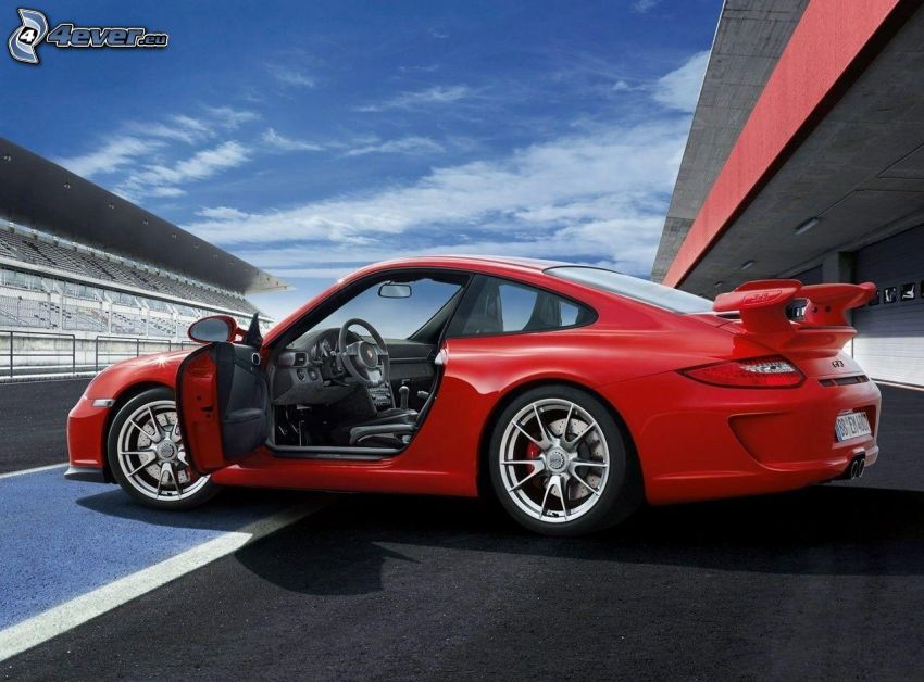 Porsche 911 GT3, racerbana