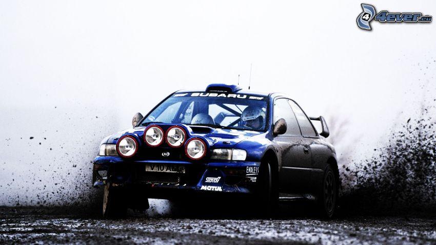 Subaru Impreza, lopp, rally, drifting