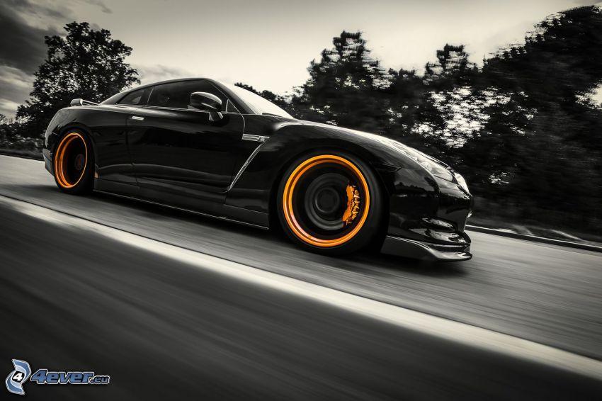 Nissan GT-R, tuning, fart