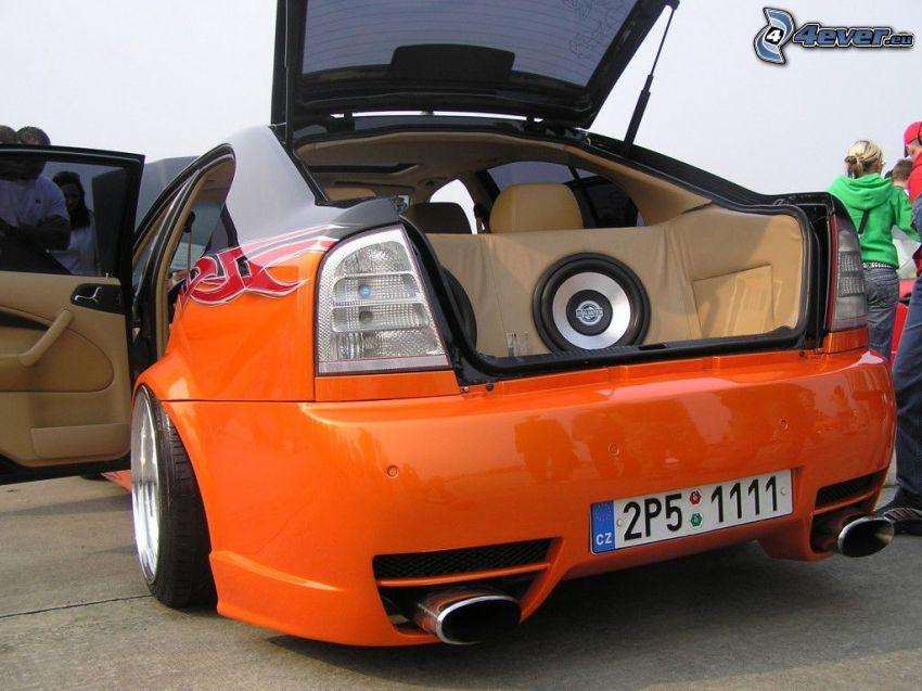 Škoda Octavia, tuning, högtalare