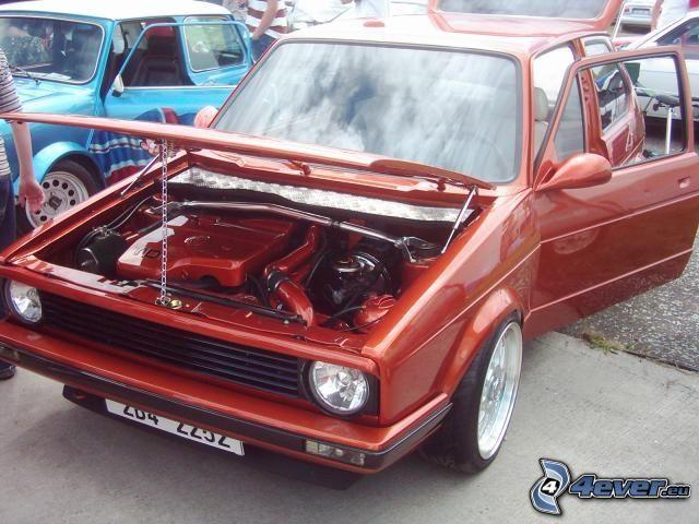 Volkswagen Golf, tuning, motor