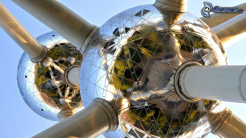 Atomium, Bryssel, Belgien