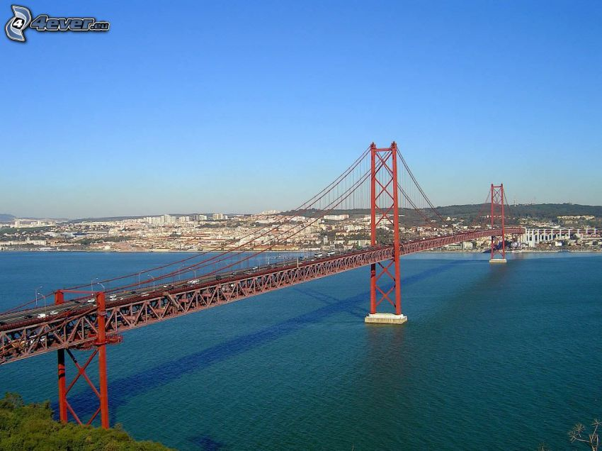 25 de Abril Bridge, Lissabon