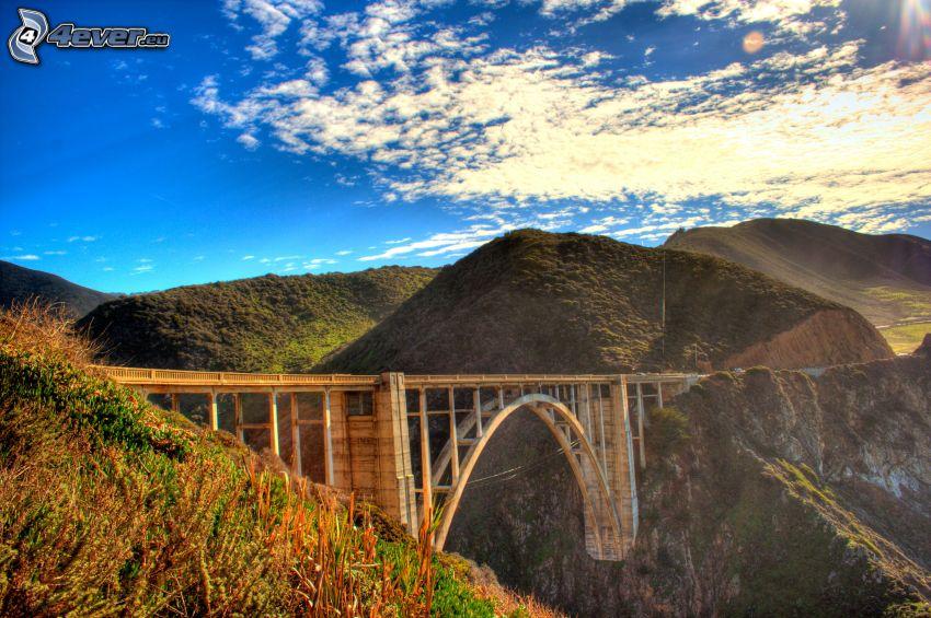 Bixby Bridge, bergskedja