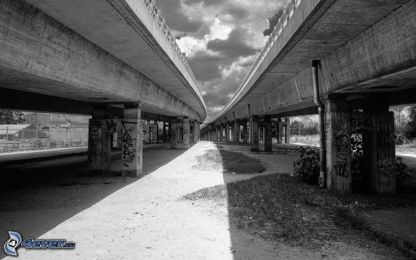 broar, gammalt foto