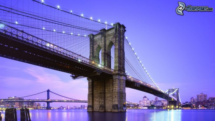 Brooklyn Bridge, HDR