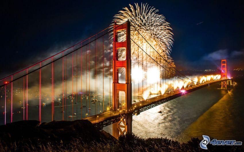 Golden Gate, fyrverkerier