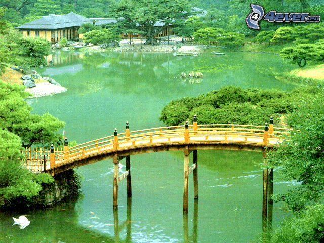 träbro, Kina