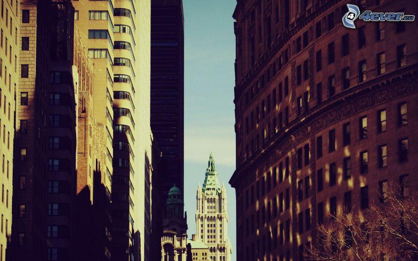 byggnader, kyrktorn