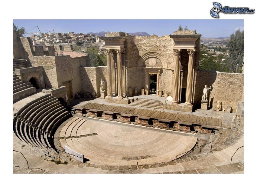 amfiteater, antik byggnad