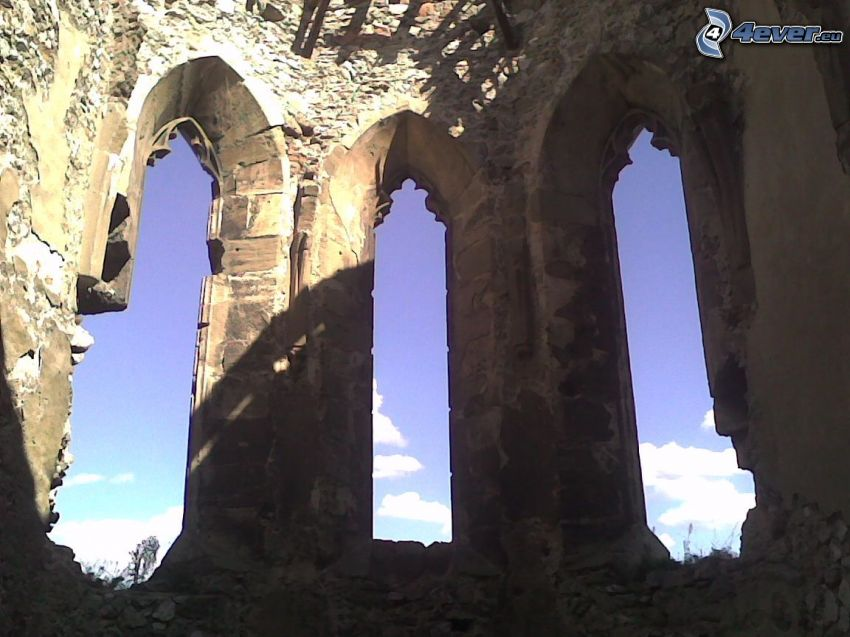 Beckov, slott, kapell