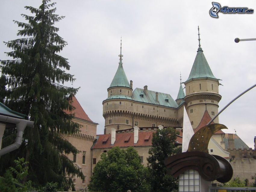 Bojnice slott, slott