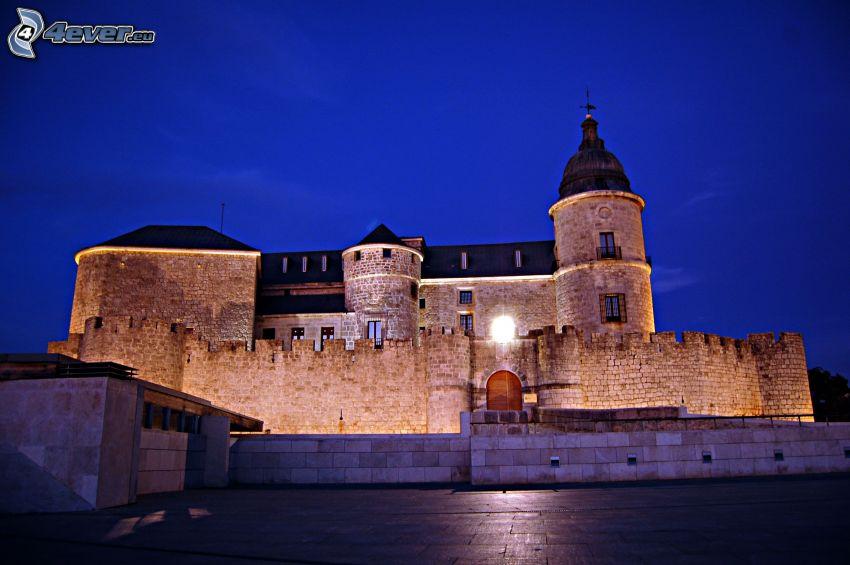 castle Simancas, natt