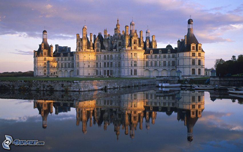 Chambord slott, Frankrike