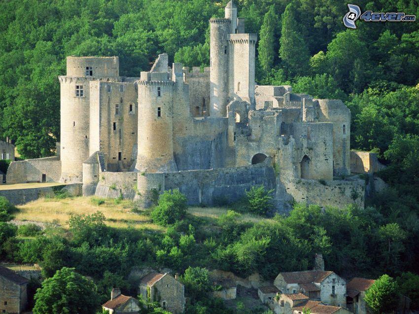 château de Bonaguil, Frankrike, slott