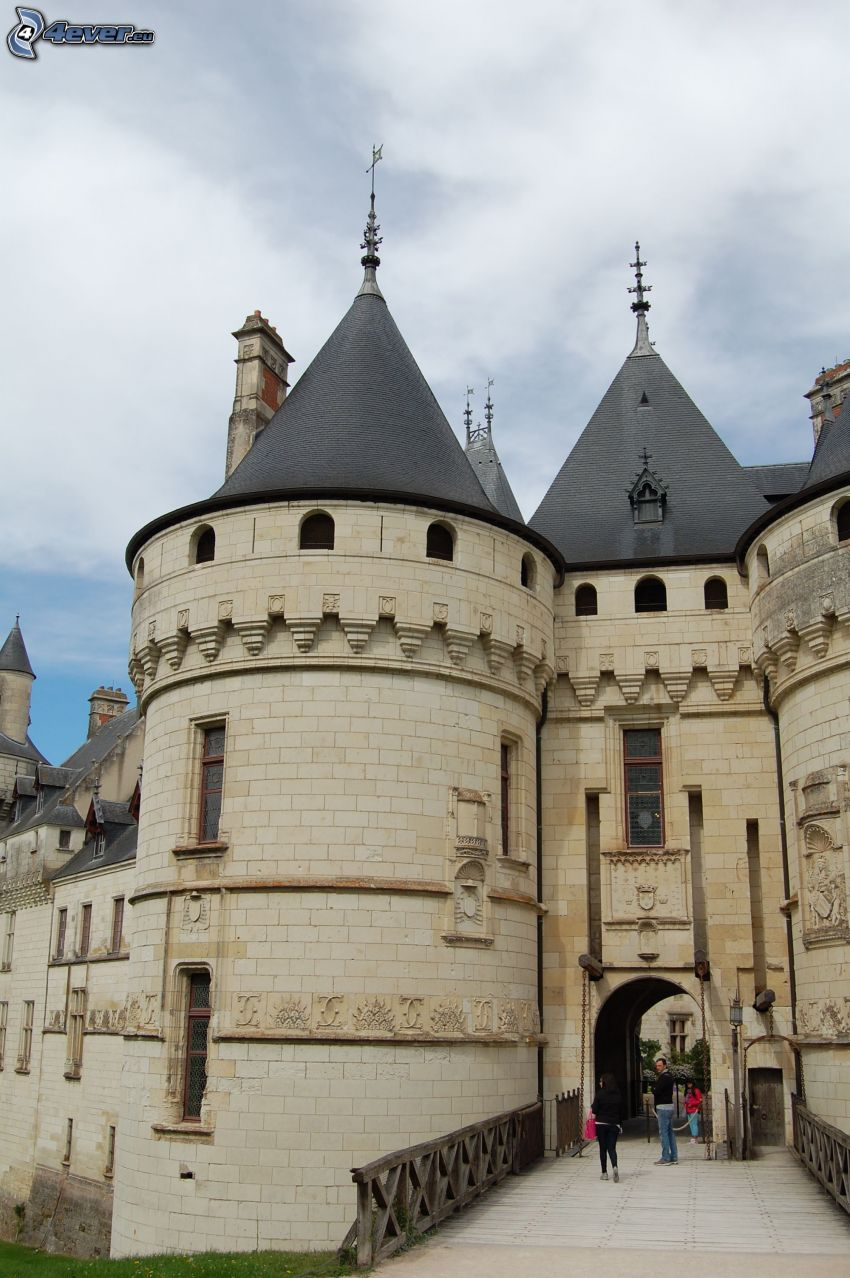 Château de Chaumont, gränd