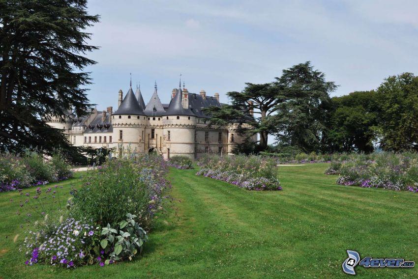 Château de Chaumont, trädgård