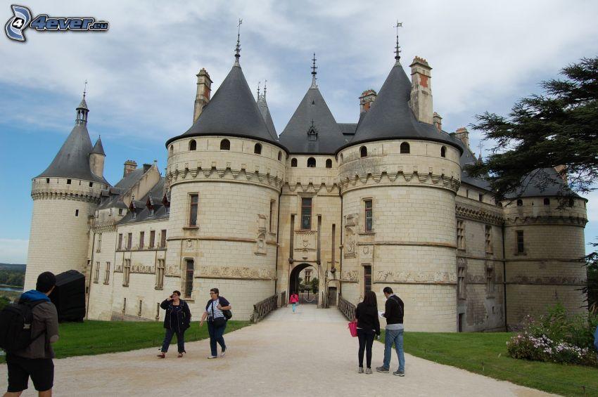 Château de Chaumont, turister