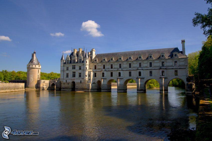 Château de Chenonceau, flod