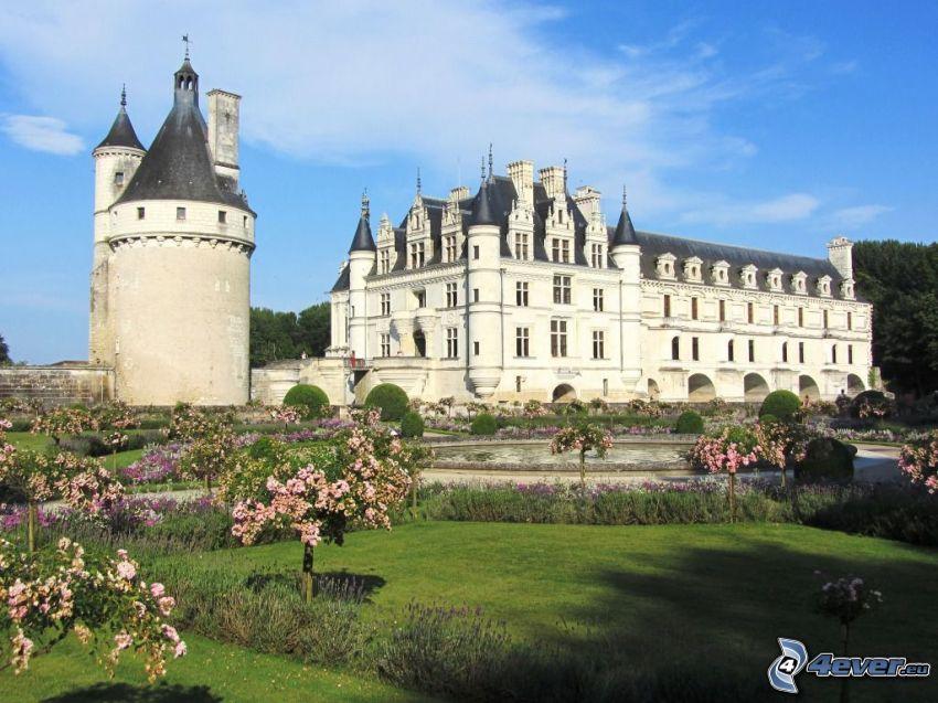 Château de Chenonceau, trädgård, park