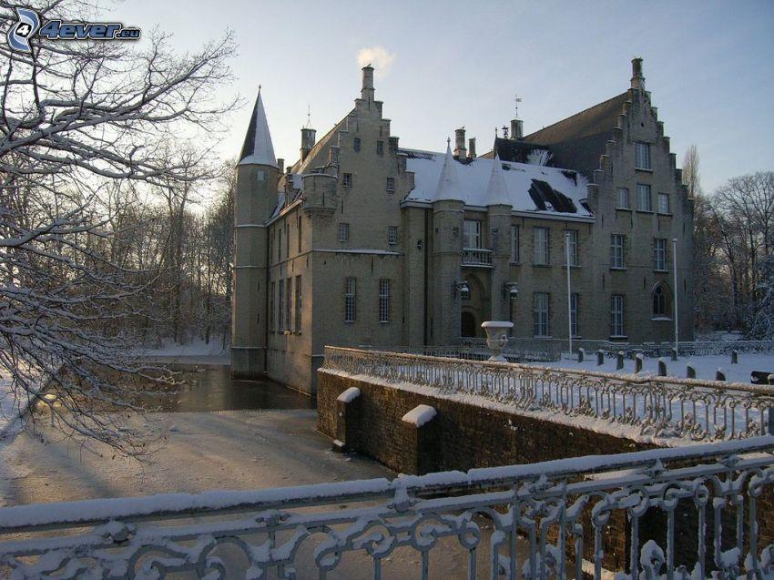Cortewalle, snö