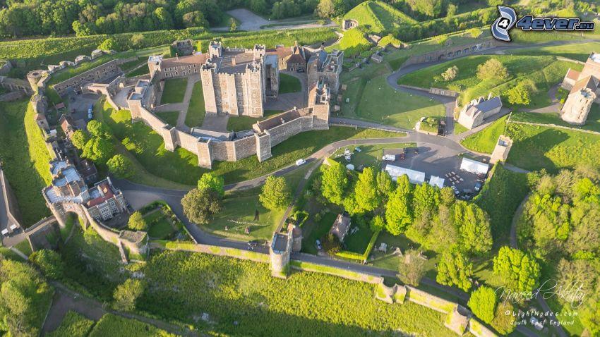 Dover Castle, trädgård