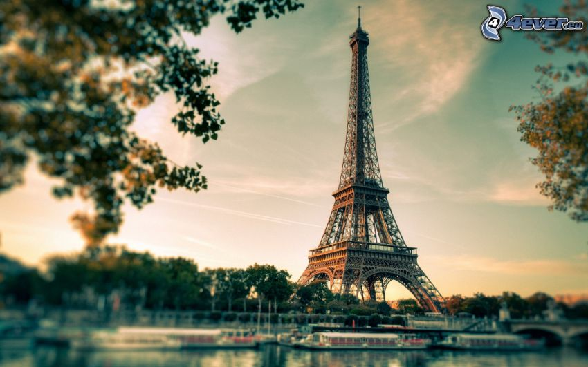 Eiffeltornet, Paris, Frankrike