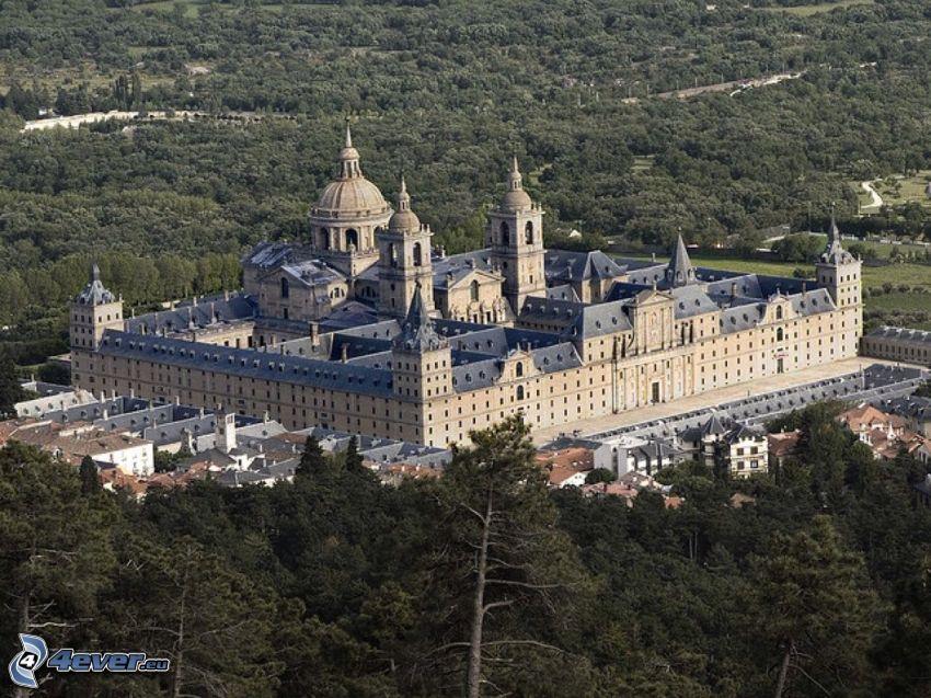 El Escorial, skog