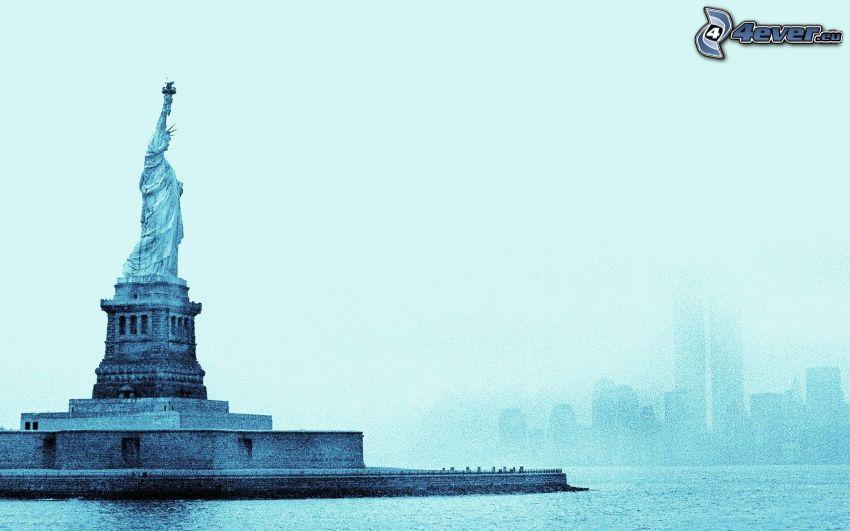 Frihetsgudinnan, New York