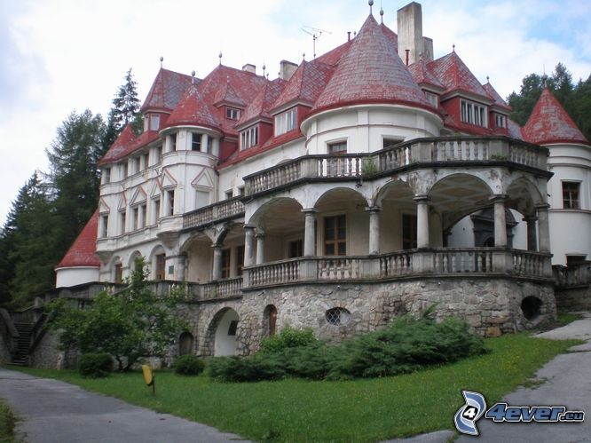 herrgård, slott