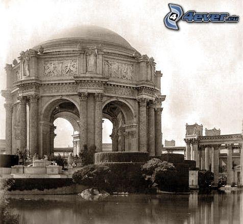 historisk byggnad, San Francisco