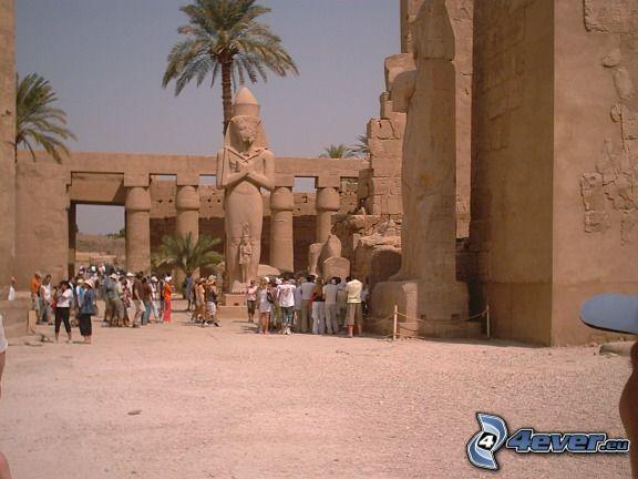 Karnak, tempel, Egypten