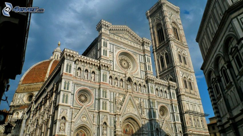 katedral, Florence, Italien