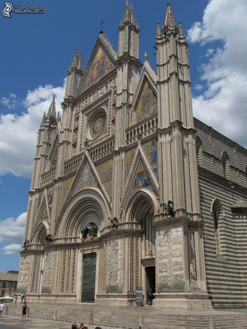 katedral, Orvieto, Italien