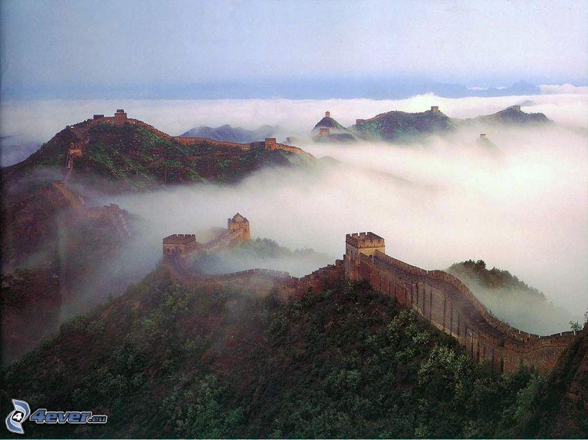 Kinesiska muren, moln