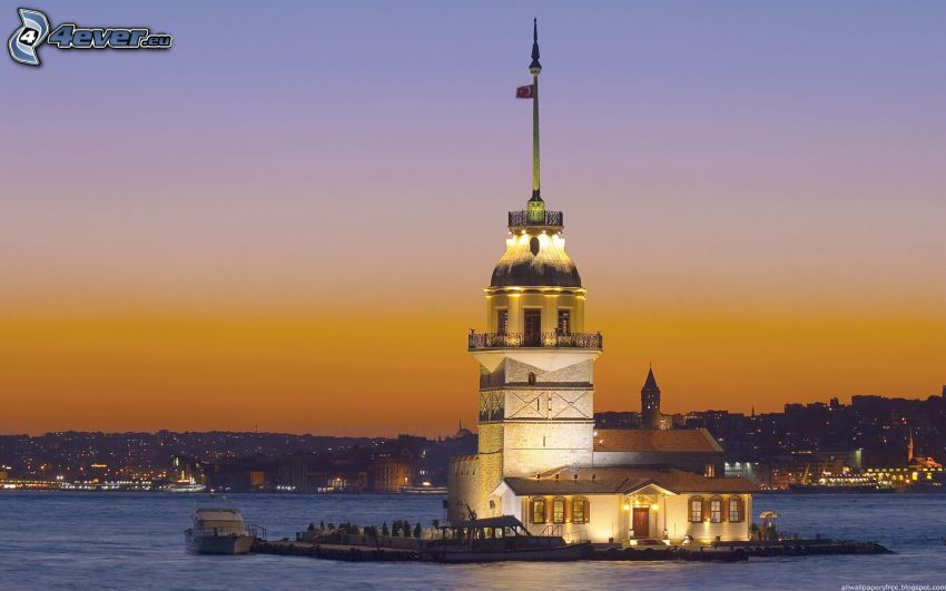 Kiz Kulesi, Istanbul, Turkiet