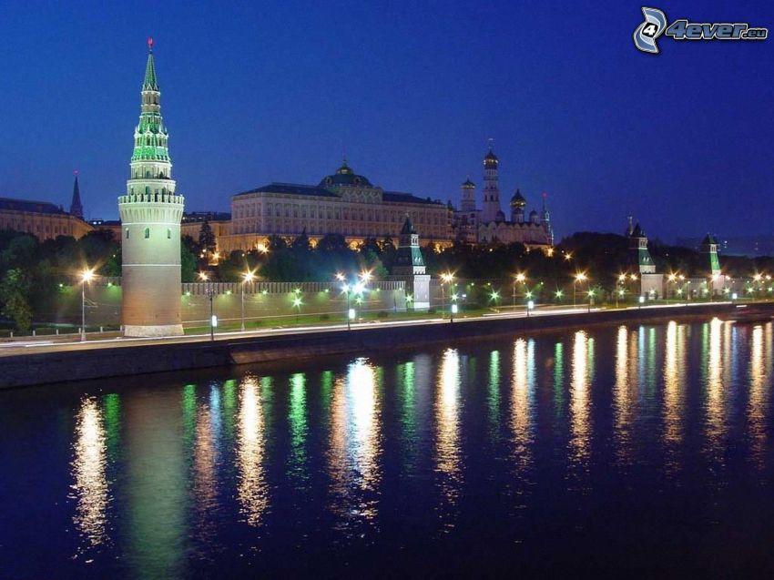 Kremlin, röda torget, Moskva