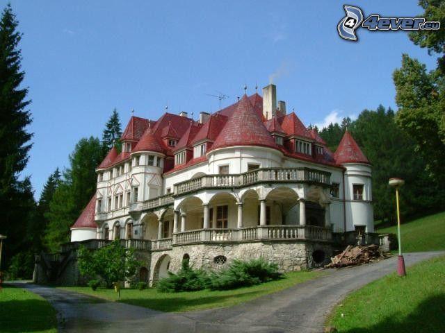 Kunerad, herrgård, Slovakien