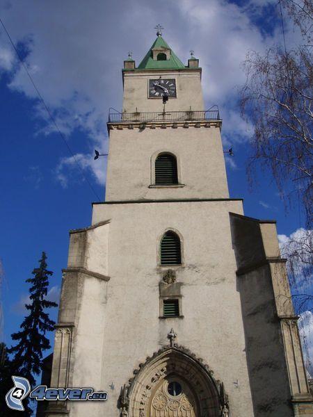 kyrka, torn, kyrktorn