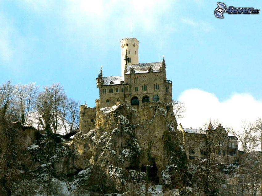 Lichtenstein Castle, klippor