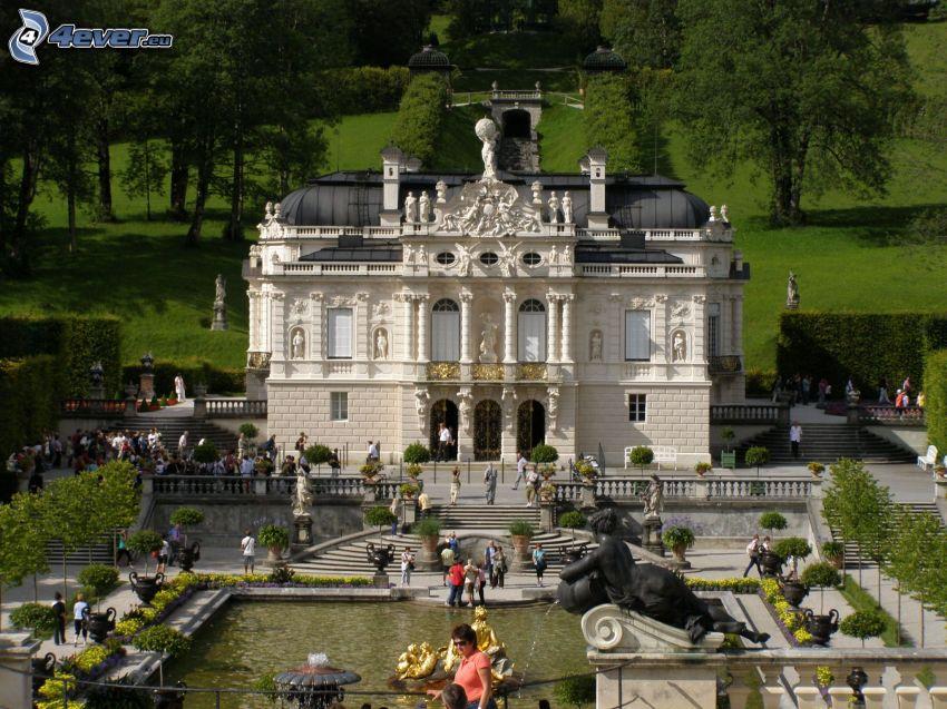 Linderhof, slottet i Bayern