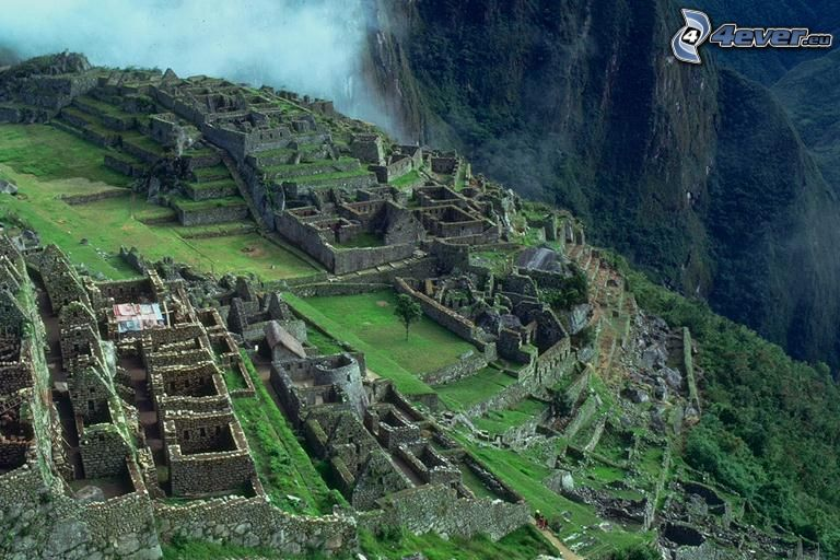 Machu Picchu, stad