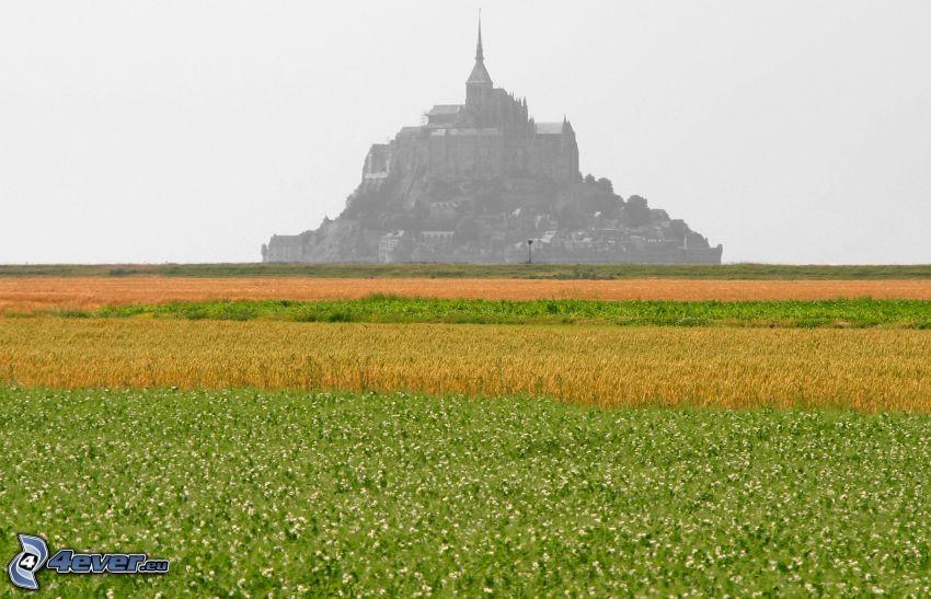 Mont Saint-Michel, äng