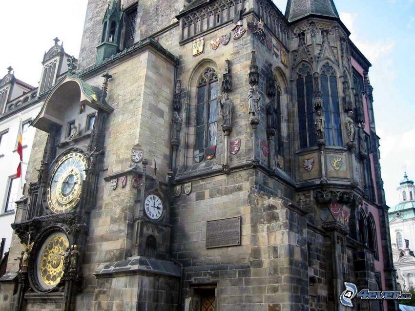Orlojklockan, Prag