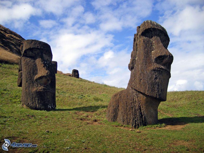 påsköarna, skulpturer