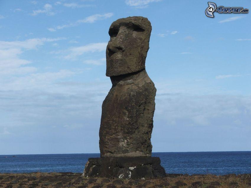 påsköarna, staty