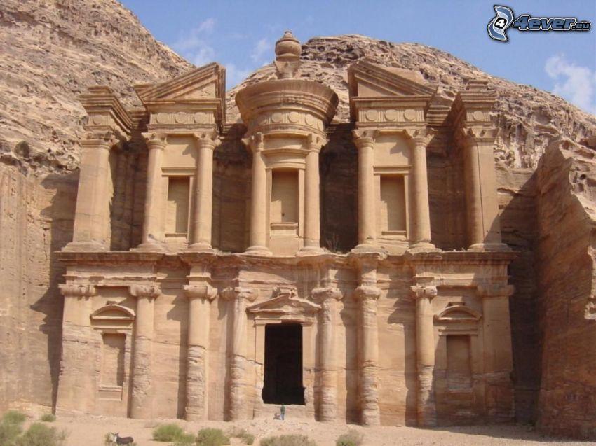 Petra, Jordanien, stad