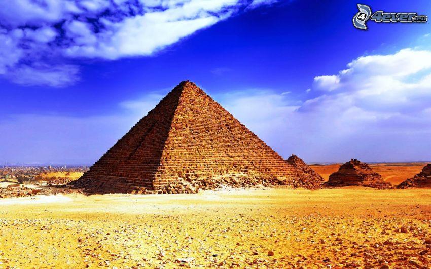 pyramid, himmel