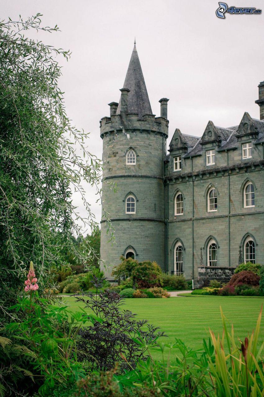 slottet Inveraray, park