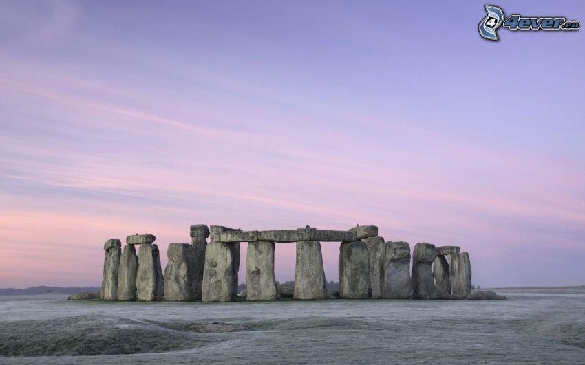 Stonehenge, himmel